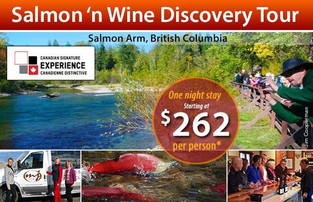 Signature Experience at Podollan Inn Salmon Arm